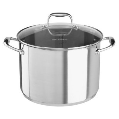 KitchenAid Stainless Steel Stockpot with Lid (8 Qt.)