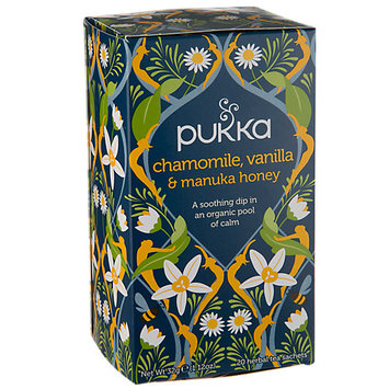 Pukka Herbs - Organic Herbal Tea Chamomile Vanilla & Manuka Honey - 20 Tea Bags