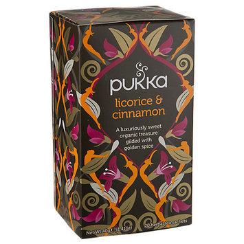 Pukka Herbs - Herbal Tea Organic Licorice & Cinnamon - 20 Tea Bags