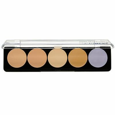 5 Camouflage Cream Palette - #2 (Asian Complexions) - 10g/0.35oz