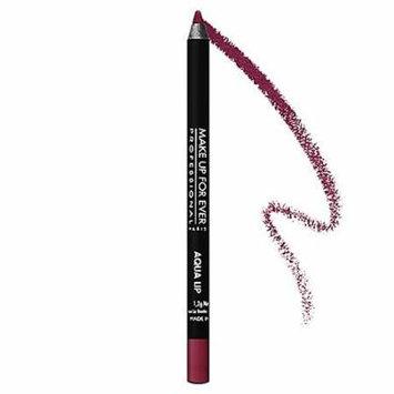 MAKE UP FOR EVER Aqua Lip Waterproof Lipliner Pencil Matte Raspberry 10C 0.04 oz
