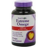 Natrol Extreme Omega , 2400 mg, 60 Softgels