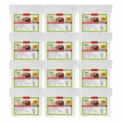 Lindon Farms Food Storage Kit 1 Year Supply for 1 Adult, 4320 Servings, 1 ea