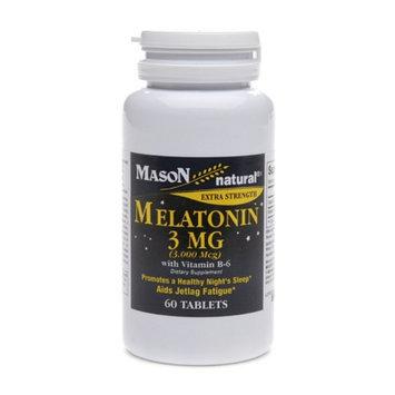 Mason Natural Melatonin 5 mg with Vitamin B-6