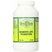 Alternative Health & Herbs Remedies Women's Life Transition Vegetarian Capsules, 240-Count Bottle