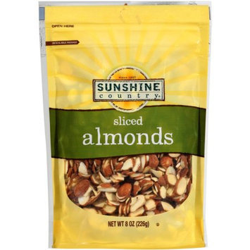 Generic Sunshine Country Sliced Almonds, 8 oz