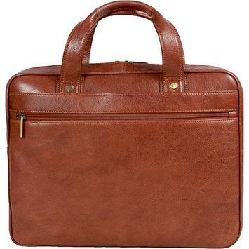 Dr. Koffer Fine Leather Accessories Slim Laptop Bag