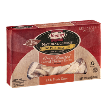 Hormel Natural Choice Oven Roasted Carved Chicken Breast with Rib Meat