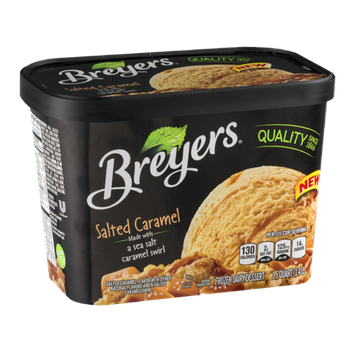 Breyers Frozen Dairy Dessert Salted Caramel