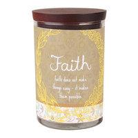 WoodWick 9.5-oz. Inspirational Faith Jar Candle (Brown)