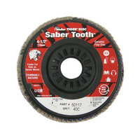 Weiler Weiler - Saber Tooth Trimmable Ceramic Flap Discs 4-1/2