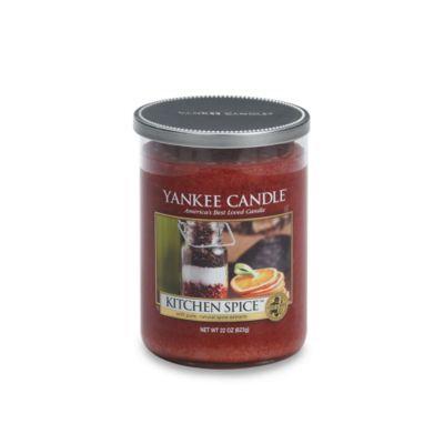 Yankee CandleA HousewarmerA Kitchen Spicea ¢ Large Lidded Candle Tumbler