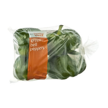 Guaranteed Value Green Bell Peppers