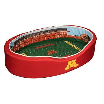 Ncaa Minnesota Golden Gophers Stadium Pet Bed - M (Min Team)