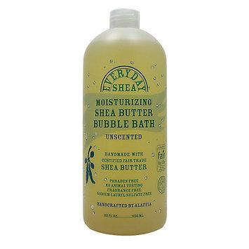 Everyday Shea - Moisturizing Shea Butter Bubble Bath Unscented - 32 oz.