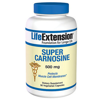 Life Extension Super Carnosine 500 mg - 90 Vegetarian Capsules