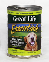 Great Life Essentials Chicken Parmigiana Canned Dog Food 13.2 oz. (Case of 12)