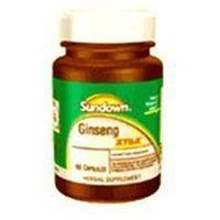 Sundown Naturals Sundown Korean Ginseng Extract 100 Mg Capsules - 60ea