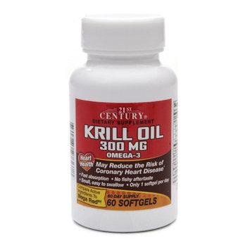 21st Century Krill Oil 300mg Omega-3