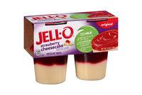 JELL-O Strawberry Cheesecake Snacks