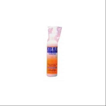 Body Heat Vanilla Rub Aloe Life 1 oz Liquid