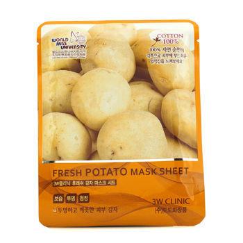 3W Clinic - Fresh Potato Mask Sheet 10 sheets