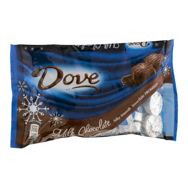 Dove Chocolate Milk Chocolate Snowflake Promises