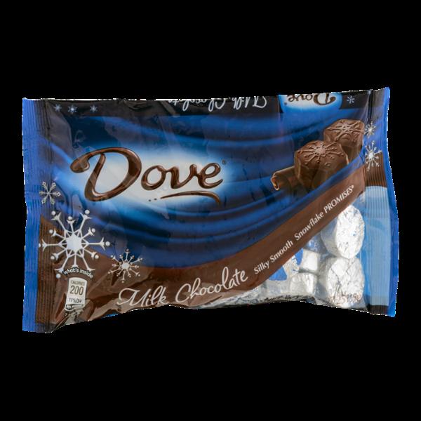 Dove Chocolate Milk Chocolate Snowflake Promises