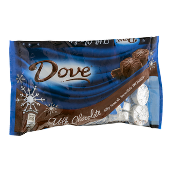 Dove Milk Chocolate Snowflake Promises