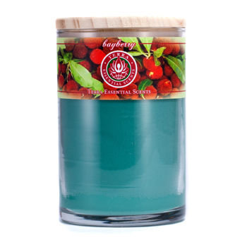 Bayberry By SOY CANDLE 12 OZ TUMBLER. A TRADITIONAL GOOD LUCK BLEND OF BAYBERRY OILS. BURNS APPROX. 30+ HOURS