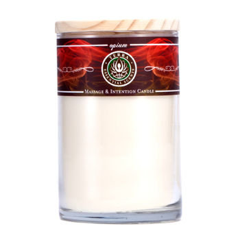Terra Essential Scents Aromatherapy Candles - All Natural 100% Soy Opium