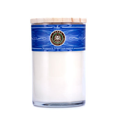 Relax: Massage & Intention Soy Candle