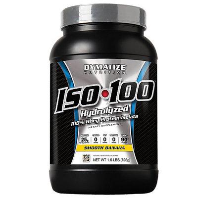 Dymatize Nutrition ISO-100 Banana 1.6 lbs - DYMAISO102LBBANAPW