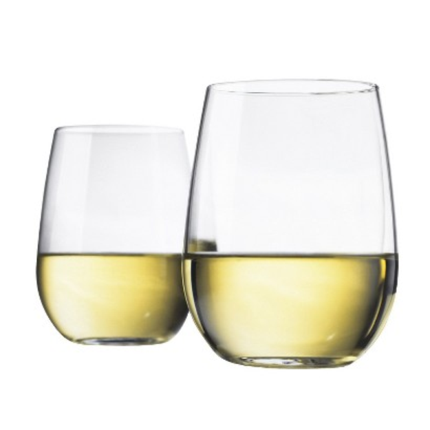 Room Essentials Stemless Wine Glasses Set of 4