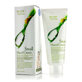3W Clinic - Snail Hand Cream 100ml