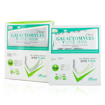 Freeset - Galactomyces V-line Mask (Pore Care) 5 sheets