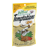 Whiskas Temptations Natural Free Range Chicken Flavor Treats for Cats
