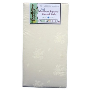 Crib, Toddler Bed Foam Mattress: Colgate Eco-foam Crib Mattress -