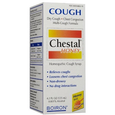 Boiron Chestal Cough Syrup, 4.2 oz ( Multi-Pack)