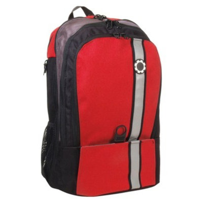 DadGear Backpack Retro Stripe - Red