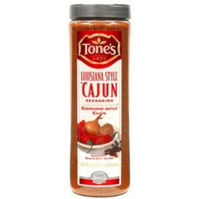 Tones Cajun Seasoning - 22 oz. shaker