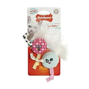 T.F.H. PUBLICATIONS INC. Cat Supplies Kitten Crinkle Roly Poly Balls