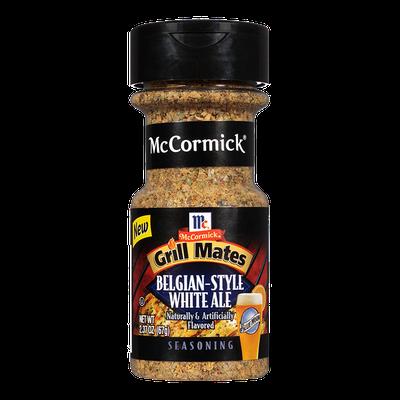McCormick® Grill Mates® Belgian-Style White Ale Seasoning