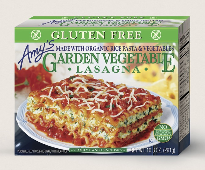 Amy's Kitchen Garden Vegetable Lasagna, Gluten Free