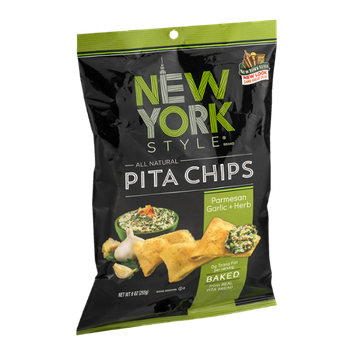 New York Style Pita Chips Parmesan Garlic & Herb
