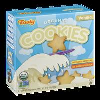 Tasty Brand Organic Cookies Vanillla - 5 PK