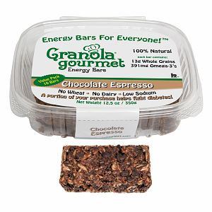 Granola Gourmet Chocolate Espresso ORIGINAL Energy Bars