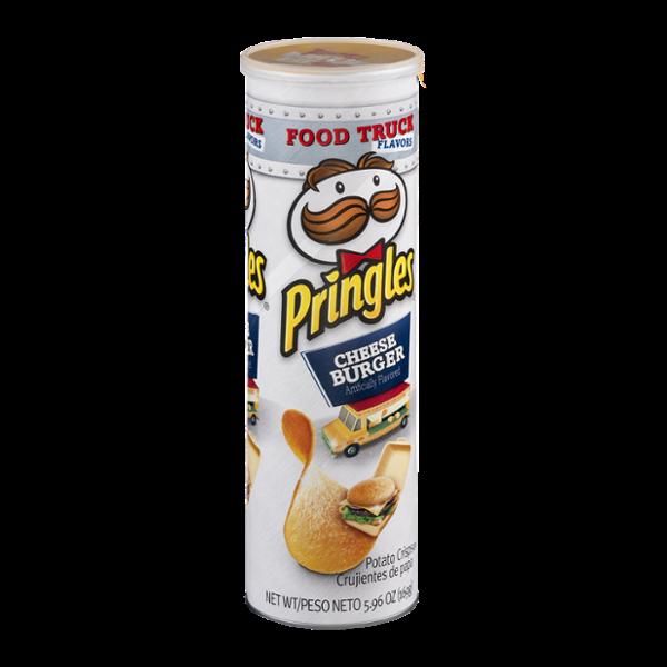 Pringles Potato Crisps Cheeseburger