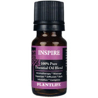 Plantlife Inspire - 100% Pure Essential Oil Blend