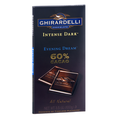 Ghirardelli Chocolate Intense Dark Evening Dream Chocolate